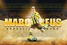 Marco Reus / Marco Reus is a German professional footballer, who plays as an attacking midfielder, winger or striker for Borussia Dortmund and Germany. Reus is known for his versatility, speed and technique. Wikipedia Born: 31 May 1989 (age 28), Dortmund, Germany Height: 1.8 m Weight: 75 kg Salary: 4 million EUR (2012) Current teams: Borussia Dortmund (#11 / Midfielder, Forward), Germany national football team (Midfielder, Forward) Nationality: West German, German