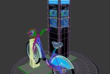 BIXI Barclays Cycle Hire 3D MODEL