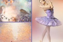 Peach &Lavender