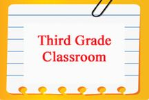 Third Grade Classroom / Third Grade Classroom curated for elementary teachers by www.treetopsecret.com.  Please visit my blog for more ideas to help you and your students, Veronica at TreeTop. / by Tree Top Secret Education