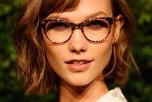 Hair To Wear With Glasses