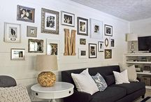 displaying your ck art. / We love these displays and installations. Here's some inspiration for your own CK gallery wall.