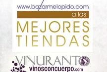 """Premios Bazar Me Lo Pido / Premios que concede la sección de la Luna de Metrópoli del periódico El Mundo y blog de tendencias, Bazar me lo Pido, a la Mejor Tienda en la categoría """"Tienda Inspiración"""".  Los """"Oscar"""" de los comercios han elegido a VINURANTO y le han dado una nominación en esa categoría.  Pero para ganar necesitamos que ¡¡¡¡NOS VOTÉIS!!!! ¡¡¡¡NECESITAMOS VUESTRA AYUDA!!!! ¡¡¡¡¡POR FAVOR!!!!! ¡¡¡¡¡VOTADNOS en el link!!!!!"""