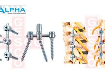 Spine Implant Manufacturers / www.gescoworld.com/implants.php - Suppliers, Manufacturers & Exporters of Spine Implant in Chennai, India.Medical Surgical Products for Implants and for Surgery, Instruments.Spine implants come with many types of surfaces, including acid etched, plasma sprayed, acid etched and grit blasted, and hydroxyapatite coated.