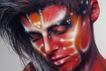 airbrushing body painting