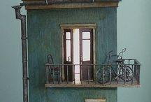 houses art