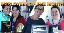 Employee of the Month at DOMA / Conversion Rock Stars and PRM Employees that Shine!