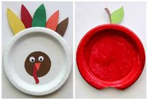 Thanksgiving Crafts / by Cyndie Janney