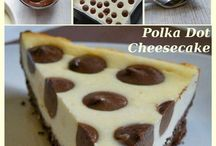 Polka dot cheesescake