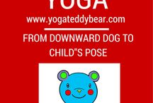 www.yogateddybear.com / Beautiful coloring books and animation to make learning about yoga fun.