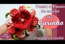 Crochê de flores