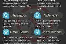Webbplatser / Tips för att skapa en grym webbplats