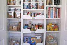 cupboard organizing