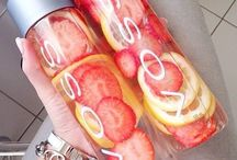pretty fruit infused water