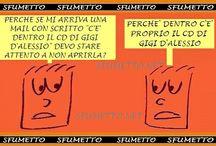 barzellette sulla musica / vignette sui musicisto e gruppi musicali dal sito www.sfumetto.net