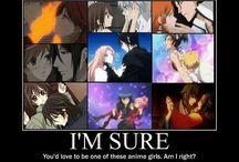 Favourite Anime Couples ❤