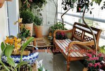 Balcony + Zen Gardens