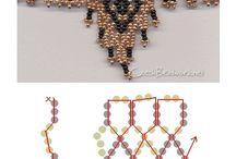 patrones abalorios / patrones para coser cuentas