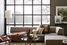 Apartment shopping sofa