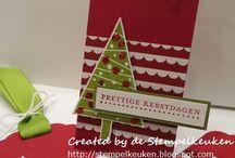 Stampin Up Christmas Tags