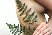 Plant tattoos