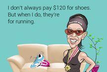Springinger / Löpning och humor