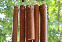 bamboo crafts 대나무 공작