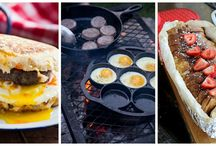 CAMPFIRE RECIPES / Give us fire, and we'll give you dinner. We love cooking over an open campfire.
