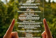 Plexiglass wedding