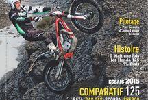 Les Unes de Trial Magazine / Toutes les couvertures de Trial Magazine, le bimestriel français consacré au trial moto et vélo.