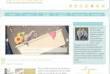 blog design inspiration / by Mel the Crafty Scientist