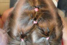 Little girl hair / by Vicki Waldrop Addington