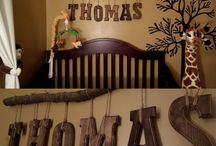Woodland Themed Big Boy Room