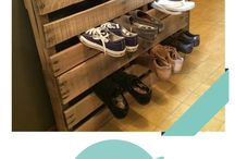 Shoes & More Shoes to Organize / Many of us have a weakness for buying shoes, and why can't we keep them all?!? Best tips for keeping shoes organized so you can keep the ones you love!