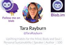 Blab with Tara -  #BLAB / #Blab is worldwide conversation. Mobile Talkshows DIY style! Still in BETA but awesome! #Blab.im