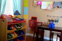 Home: Organizing Kids Stuff