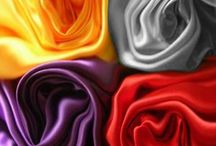 We love Satin! / All things satin! Great crafts and DIY ideas to use with satin fabric.