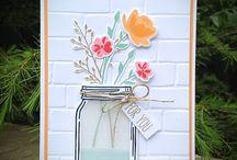 Card - SU Jar of love