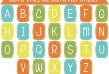 Alphabet Clip Art / Alphabet and letter clip art #alphabet #clipart #vectors #letters