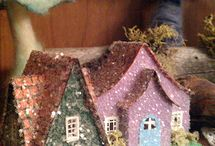Paper houses / by Sharon Cutbirth Hollenbeck Malenke