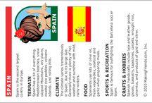 International Fact Cards