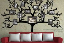 Family photo wall / by Gina Jacobson