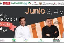1er. Festival Gastronómico Comala, 2016 / Del 3 al 5 de junio, 2016 en Comala, Colima. México Se pretende desarrollar la gastronomía de Comala y fomentar la creación de nuevos platillos con productos de la región y así procurar el turismo sustentable.