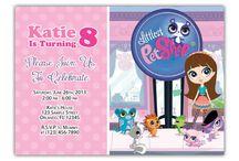 Littlest Pet Shop Bday Party