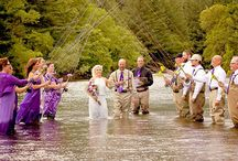 Gone Fishing/Fishing Themed Wedding / For the bride and groom who fish together and want their passion to be reflected on their special day