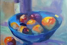 Oil Paintings by Sharon Menary / My oil paintings in a variety of styles and techniques