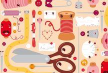 spoonflower prints / by Susan Howard