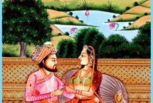Mughal Arts Oil Paintings