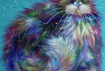 искусство и коты
