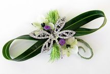 Floral jewelry and fashion